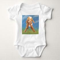 Baby Goat Baby Bodysuit