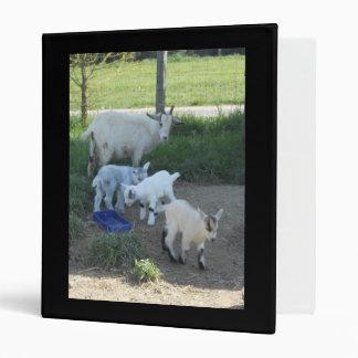 Baby Goat Family Binder