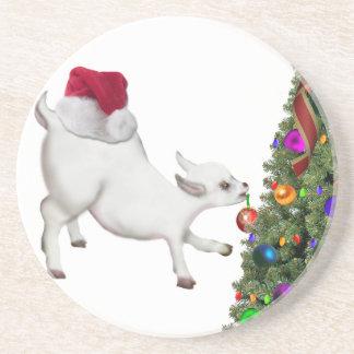 Baby Goat Sandstone Coaster