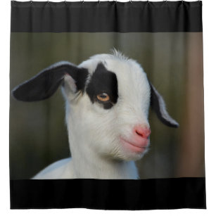 Baby Goat Shower Curtain