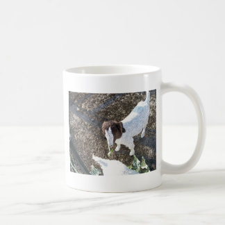 Baby Goat with Cabbage Leaves Coffee Mug