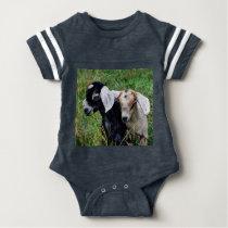 Baby Goats Baby Bodysuit