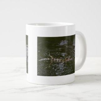 Baby Goes for a Swim Giant Coffee Mug