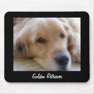 Baby, Golden Retriever Dog Mousepad
