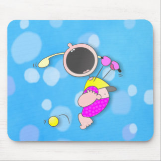 Baby Golf Champion Mouse Mats