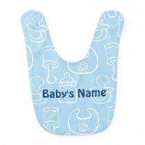 baby good patterned bib