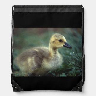 baby goose drawstring bag