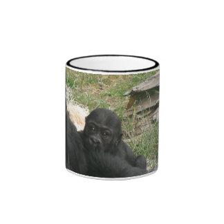 baby gorilla 006 mug