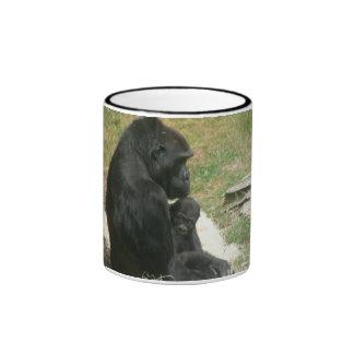 baby gorilla 007 mug