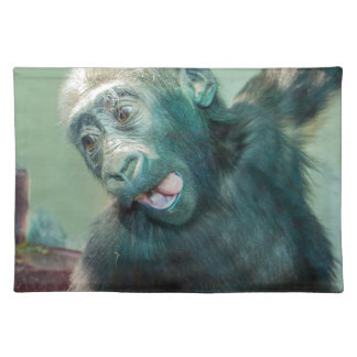 Baby Gorilla Cloth Placemat
