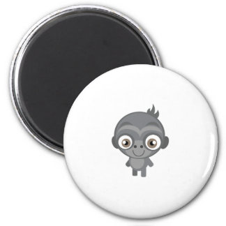Baby Gorilla - My Conservation Park 2 Inch Round Magnet