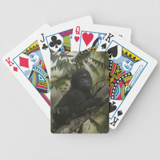 Baby Gorilla Playing Cards