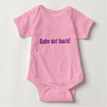 Baby got back! baby bodysuit