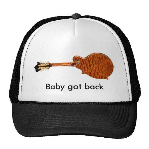 Baby Got Back mandolin truckers hat