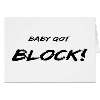 Baby Got Block Card