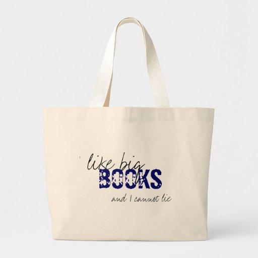Baby Got Books Jumbo Tote Bag