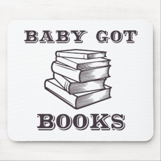 Baby Got Books Mouse Pad