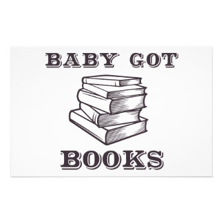 Baby Got Books Stationery