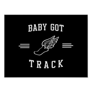 Baby Got Track Poster