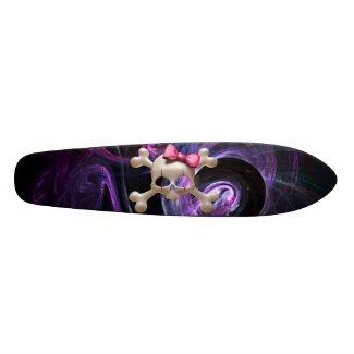 Baby Goth Old School Skateboard skateboard