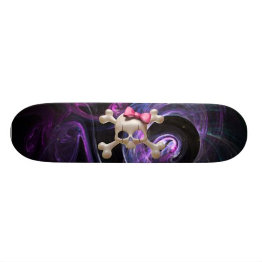 Baby Goth Skateboard