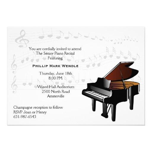 Rlv Zcache Com Baby Grand Piano Invitation R8b9bfd