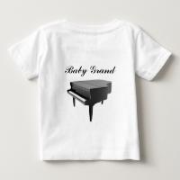 Baby Grand Piano Tee Shirts