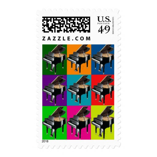 Baby Grand Pop Art T-Shirt & Gifts Postage Stamp