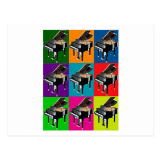 Baby Grand Pop Art T-Shirt & Gifts Postcard