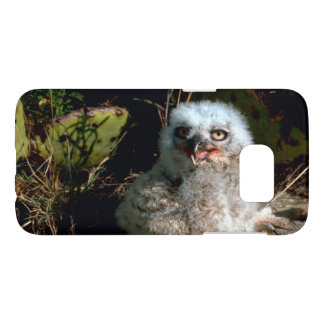 Baby Great Horned Owl Photograph Samsung Galaxy S7 Case