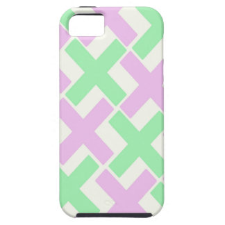 Baby Green and Lavender Xs iPhone SE/5/5s Case