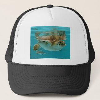 Baby Green Sea Turtle Trucker Hat