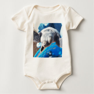 Baby Green Turtle Baby Bodysuit
