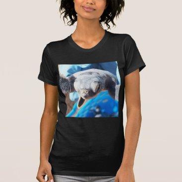 Beach Themed Baby Green Turtle T-Shirt