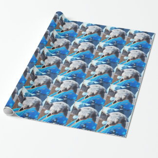 Baby Green Turtle Wrapping Paper