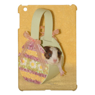 Baby Guinea Pig in Basket iPad Mini Case