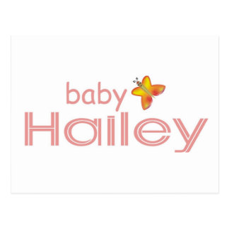 Baby Hailey Postcard