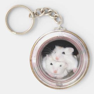 Baby hamsters (keychain)
