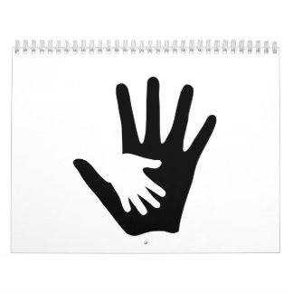 Baby hand calendar