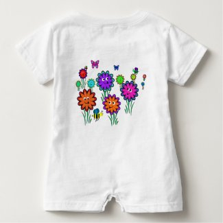 Baby Happy Flowers T-shirt