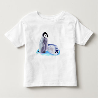 *Baby Harp Seal and Baby Penquin Toddler T-shirt
