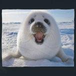 "BABY HARP SEAL FLEECE BLANKET<br><div class=""desc""></div>"