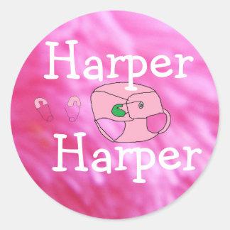 Baby Harper stickers