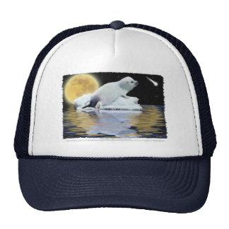 Baby Harpseal Arctic Wildlife Supporter Cap Trucker Hats