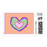 Baby Heart Postage