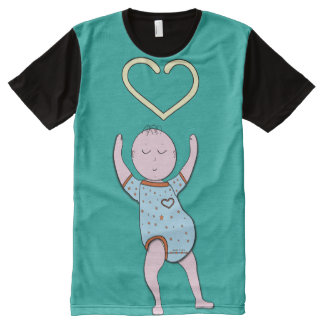 Baby Hearts/Adult Baby/Cute/Baby 4 Life 2016 All-Over-Print T-Shirt