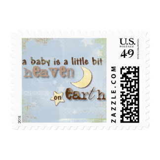 Baby Heaven on Earth Postage Stamp