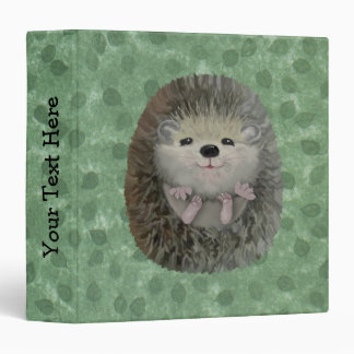 Baby Hedgehog Binder