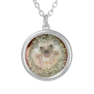Baby Hedgehog necklace