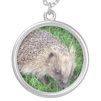 Baby Hedgehog Sterling Silver Necklace